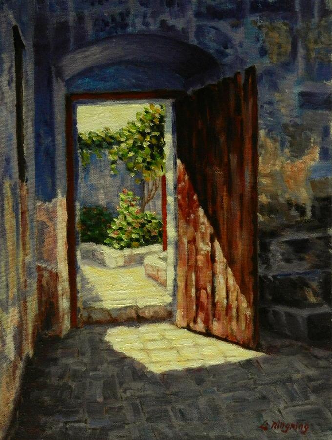 through-the-door-ningning-li