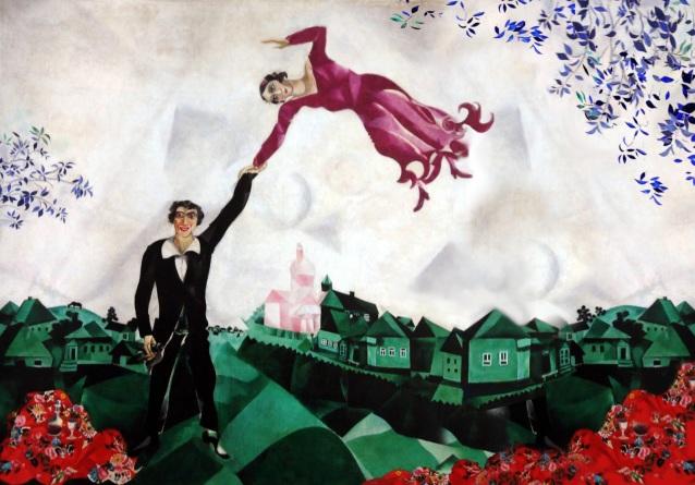 lontano: la promenade - Chagall