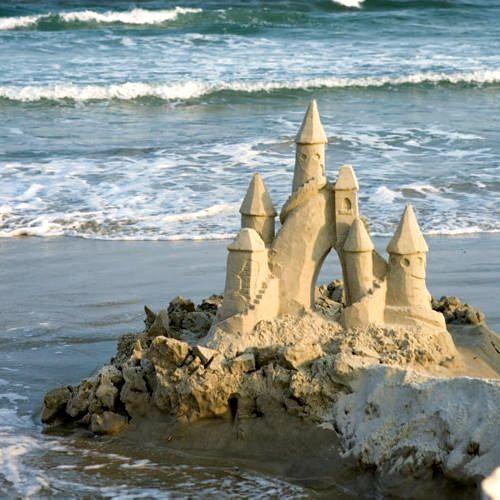 casa sulla sabbia